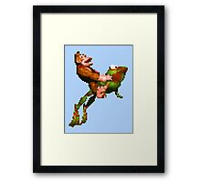 Riding Winky Framed Print