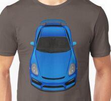 Porsche cayman GT4 (zafiro blue) Unisex T-Shirt
