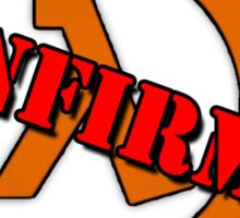 Half Life 3 Confirmed! Sticker