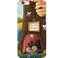 Sleepy Bear iPhone Case/Skin
