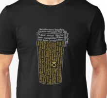 A glass of beer Unisex T-Shirt