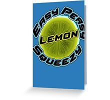 CS:GO Easy Peasy Lemon Squeezy Logo Greeting Card