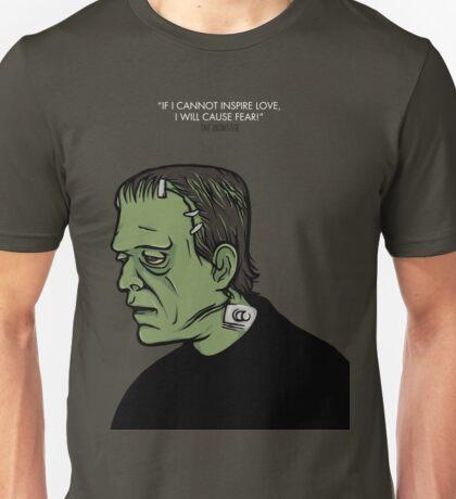 The Monster, Frankenstein Unisex T-Shirt