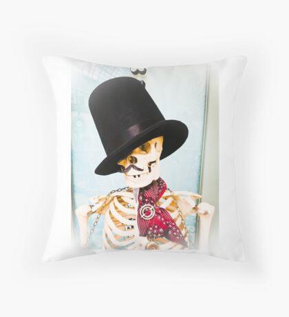 Mr Dapper Throw Pillow