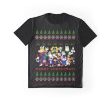 Ugly Christmas Undertale Graphic T-Shirt