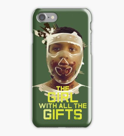 The girl of all the gifts iPhone Case/Skin