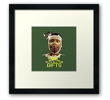 The girl of all the gifts Framed Print