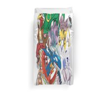 Legendary Pokemon Bed Duvet! Twin Size (Check Other work for other sizes!) Duvet Cover