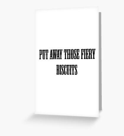 The Mighty Boosh Greeting Card