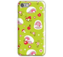 Cute Hedgehog Baby Print iPhone Case/Skin
