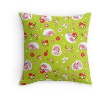Cute Hedgehog Baby Print Throw Pillow