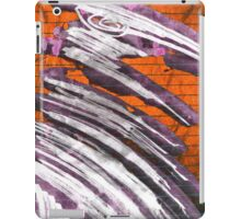 extatic white raven iPad Case/Skin