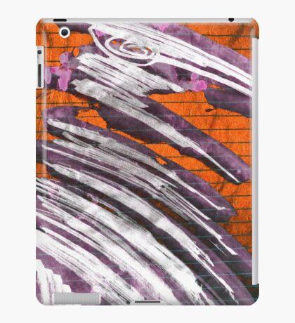 extatic white raven iPad Case/Skin