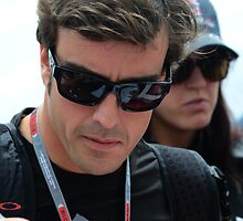 Fernando Alonso, 2012 by Rhiannon D'Averc