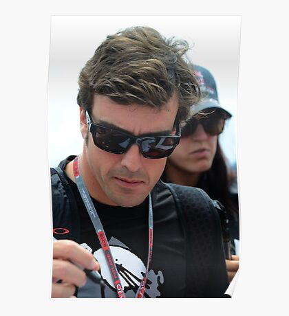 Fernando Alonso, 2012 Poster
