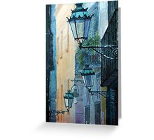 Spain Series 07 Barcelona Greeting Card