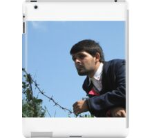 Talk Over Thorny Wire iPad Case/Skin