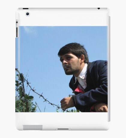 Talk Over Thorny Wire iPad Case/Skin