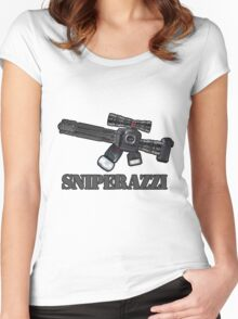Sniperazzi Women's Fitted Scoop T-Shirt