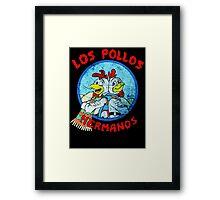 Los Pollos Hermanos Wink retro style Framed Print