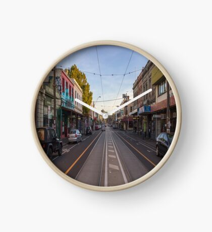 Brunswick Street (North to South) - Fitzroy, Melbourne Clock