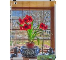 Amaryllis view of Spring iPad Case/Skin