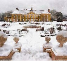 Reigate Priory School in wintertime by AndyHuntley