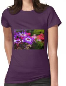 Close Up  Womens Fitted T-Shirt