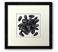 Sunflower Seeds Framed Print