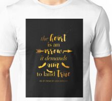 The Heart Is An Arrow - Six of Crows by Leigh Bardugo (B) Unisex T-Shirt