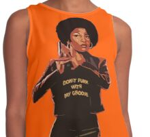 Don't Funk With My Groove Contrast Tank