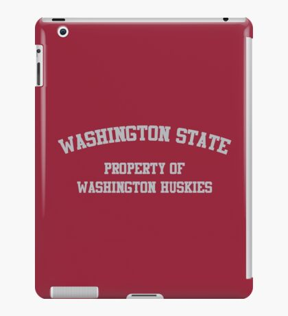 Washington - Washington State Rivalry iPad Case/Skin