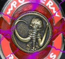 It's Morphin Time - MASTODON! Sticker