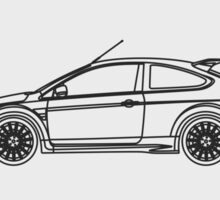 Focus RS Sticker