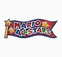 The Mario All Stars Baby Tee