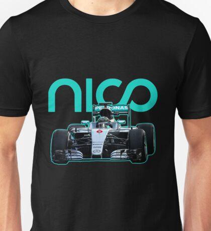 Nico Rosberg best formula 1 driver Unisex T-Shirt