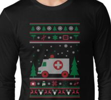 EMR Car Ugly Christmas Sweater Long Sleeve T-Shirt