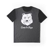 Come to Papa Hairy Gay Grizzly Bear Quote Graphic T-Shirt
