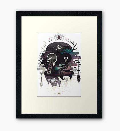 Conjure Daemon Framed Print