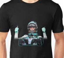 Nico Rosberg F1 driver Unisex T-Shirt