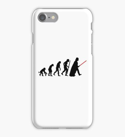 Evolution  lightsaber iPhone Case/Skin
