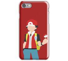 Red (Simplistic) iPhone Case/Skin