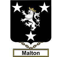 Malton Coat of Arms (English) Photographic Print
