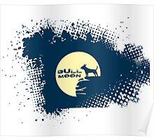 Bull Moon Poster