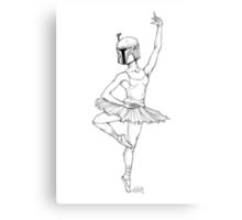 Ballet Fett Canvas Print