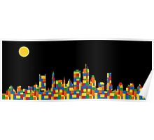 Boston Skyline 5 Poster