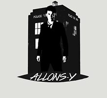 Tenth Doctor Allons-y. Unisex T-Shirt