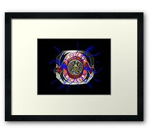 It's Morphin Time - TRICERATOPS Framed Print