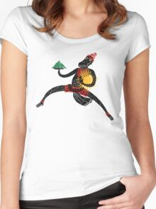 Hanuman's Leap Women's Fitted Scoop T-Shirt