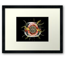 It's Morphin Time - SABER-TOOTH TIGER Framed Print
